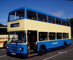 Preston Transport 114 at Sandbach Services - 2005