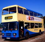 Preston Transport 110 - J110 KCW  at Sandbach Services - 2003